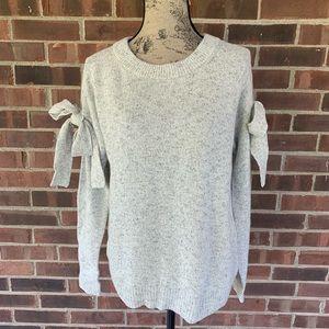 NWOT Ann Taylor wool blend sweater bow detail